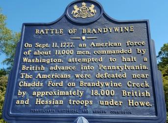 Brandywine photo - sign